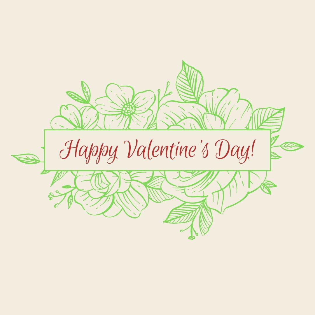 Wishing you a Happy Valentine's Day!