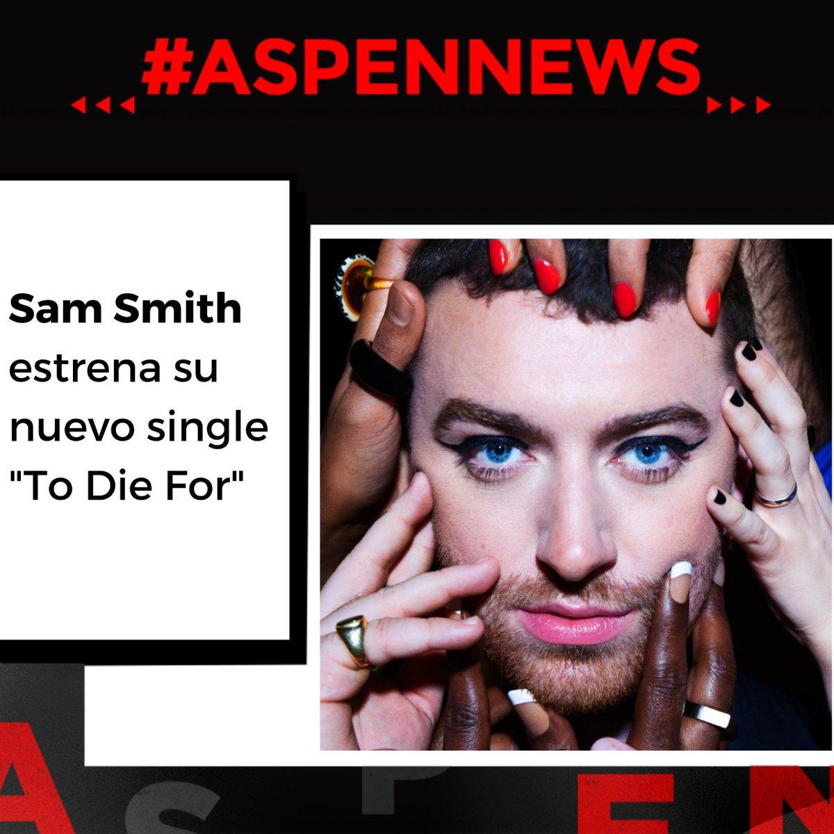"""#AspenNews  Sam Smith @samsmith #ToDieFor estrena su nuevo single """"To Die For"""" y te lo presentamos en ASPEN"""