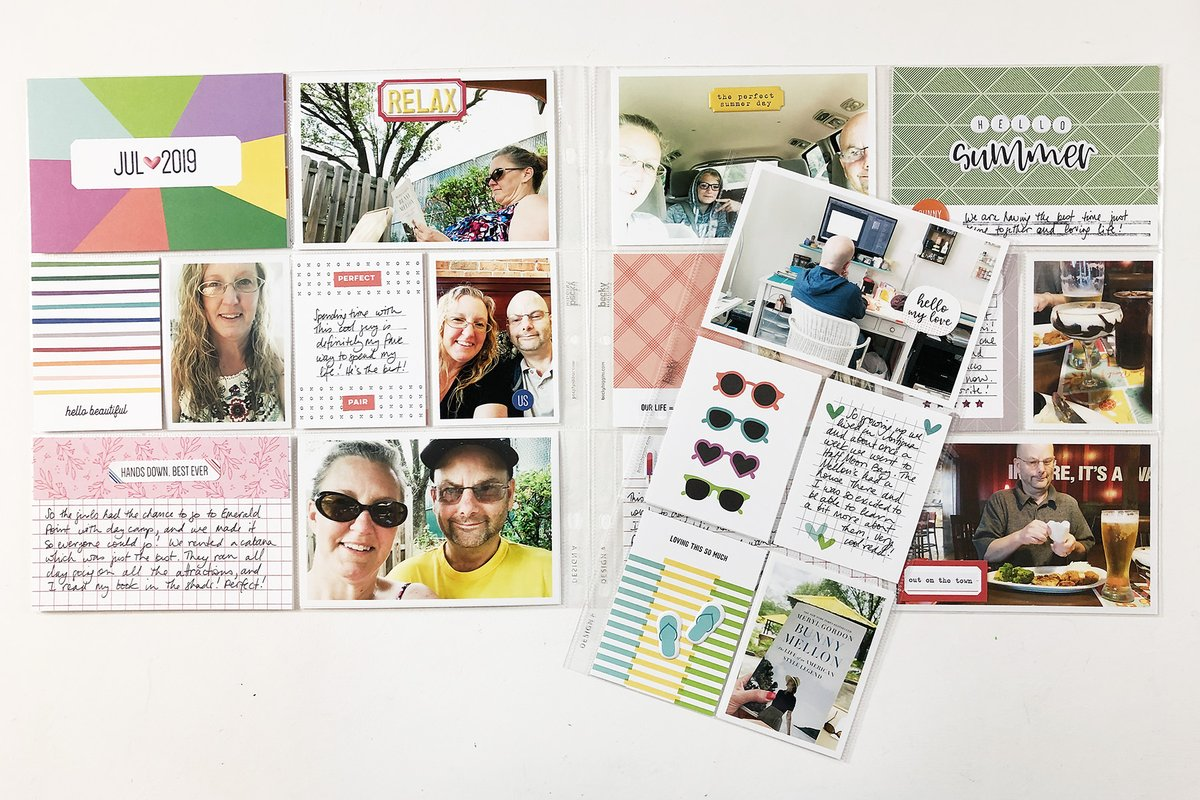 Hello Lovelies and welcome back to my Project Life 2019 album! Today I am sharing my July monthly layout using several of my Elle's Studio kits that have been gathering on my desk.   #documentinglife #ellesstudio #inmypocket #pocketpages #projectlife https://larkindesigntm.com/project-life-2019-july-monthly-ft-elles-studio/…pic.twitter.com/9qYX9gigEe