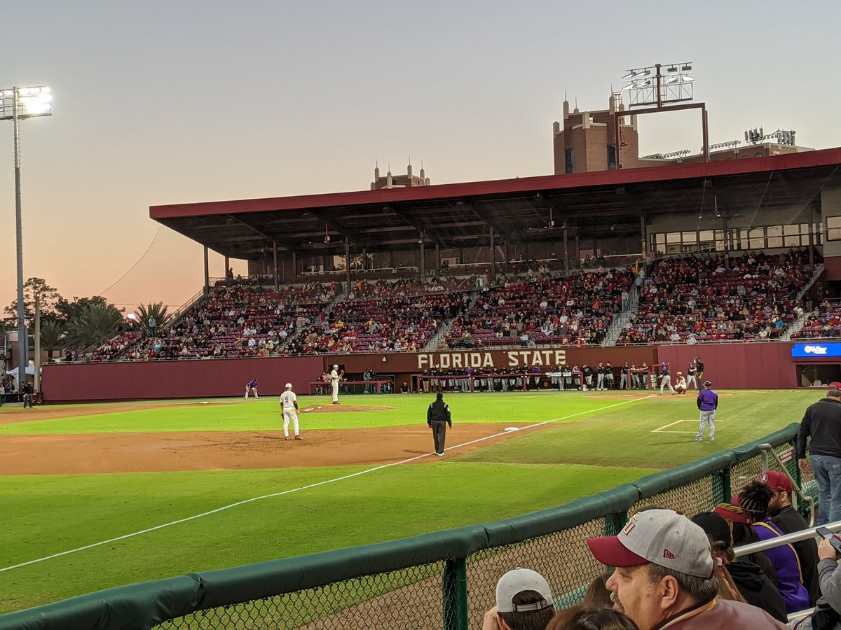 Few things as great as @FSUBaseball opening night. Ready to 'Meat' the new team.