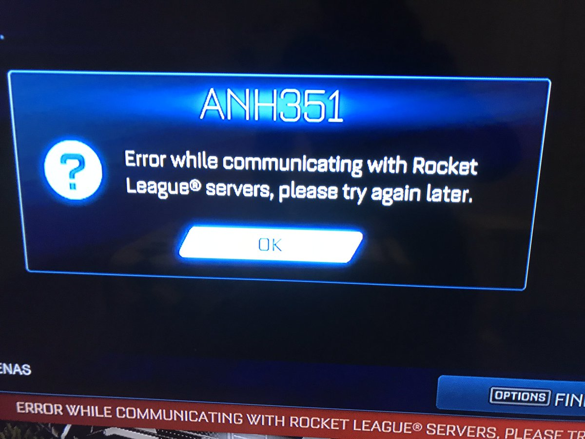 Yo! @RocketLeague getting the error trying to play online. Any advice to fix it?
