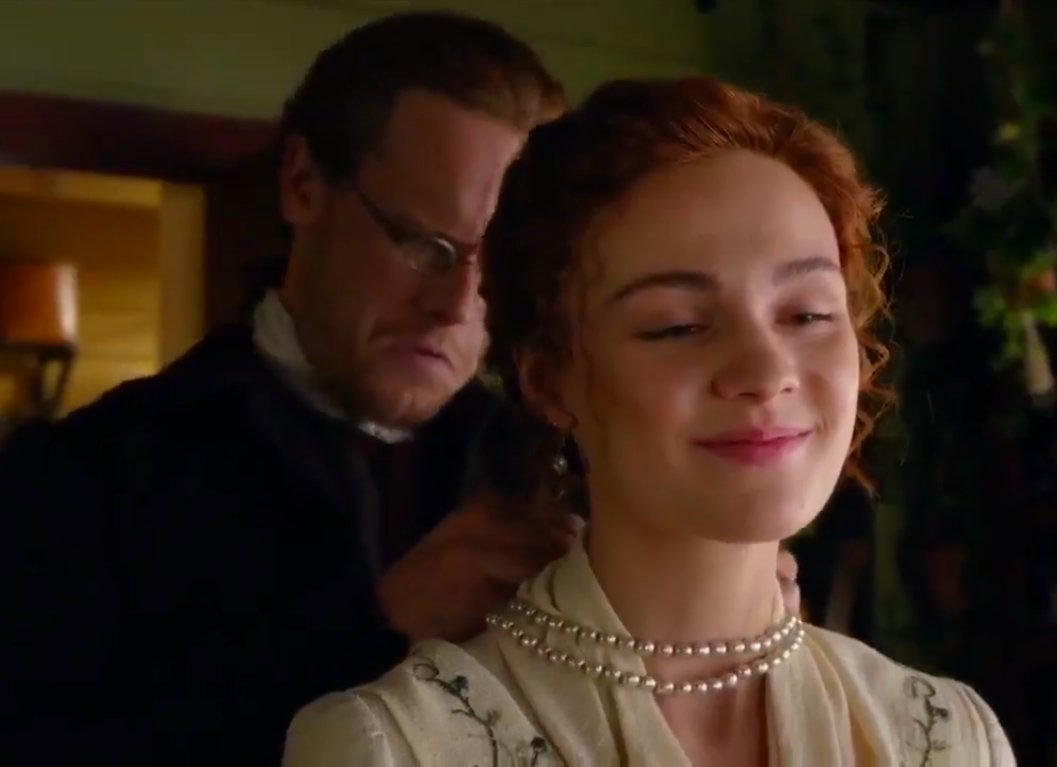I CANT EXPLAIN HOW MUCH I LOVE BREE AND JAMIE THEIR RELATIONSHIP MEANS EVERYTHING TO ME #Outlander5 #Outlander