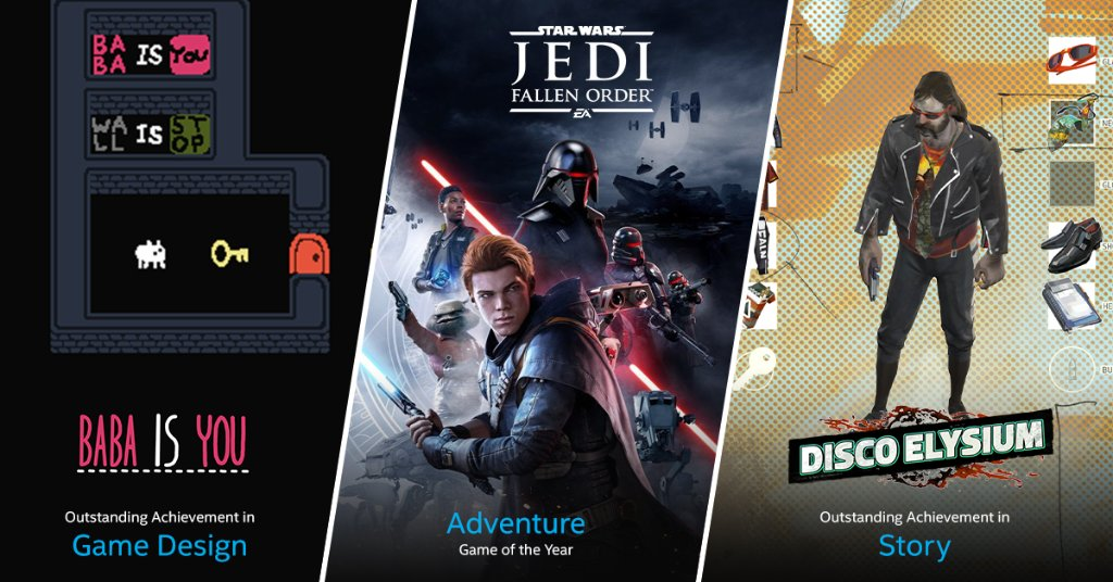 Congrats to the #gamedev teams that earned well-deserved recognition at last night's #DICEAwards! Did any of your favorite games from 2019 win an award?