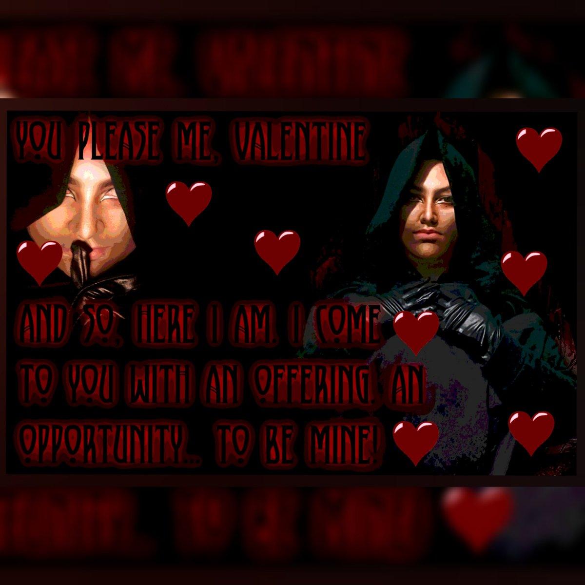Lucien Lachance wishes you all a great Valentine's Day! . #LucienLachance #TheDarkBrotherhood #theelderscrolls #Oblivionpic.twitter.com/LEYG8DGYFx