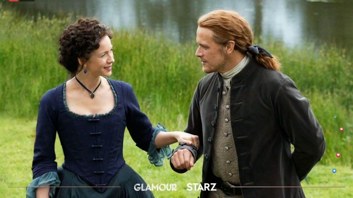 @gandusio @Outlander_STARZ @MakkOlga @GinaPustor123 @samheughanfan1 @TartarugaTanya @ElenaFadeeva3 @Martina82403124 @AngusAngels @tracybarnes2604 @OutlanderHome @OutlanderHQ @SummerPic Gorgeous collage with new gifs of #Outlander #JamieandClaire in a new #OutlanderSeason5 Hardly wait to see the first episode 💕Happy times for a #FraserFamily on the  #FraserRidge 💞🕊️💞