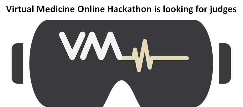 Anyone interested in being a judge for the first medical #VirtualReality online hackathon? Please fill out the form below. @virtualmedconf   https://t.co/ofpO1BFuyA