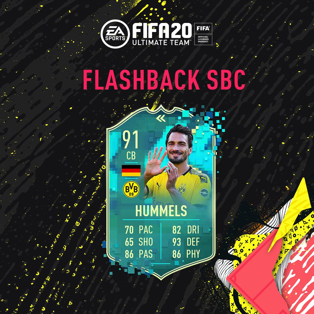 One of the best 🇩🇪 defenders of his generation.  @matshummels Flashback SBC is now live in-game! #FUT20