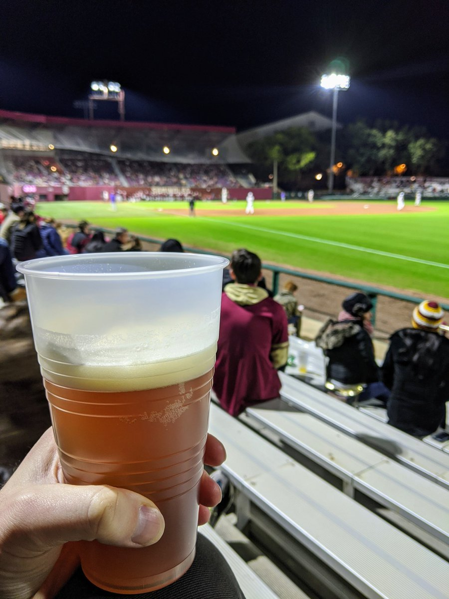 Baseball is back! You can now enjoy Eightfive-0, Mango Wit, and La La Land while you watch the Noles! ⚾🍻