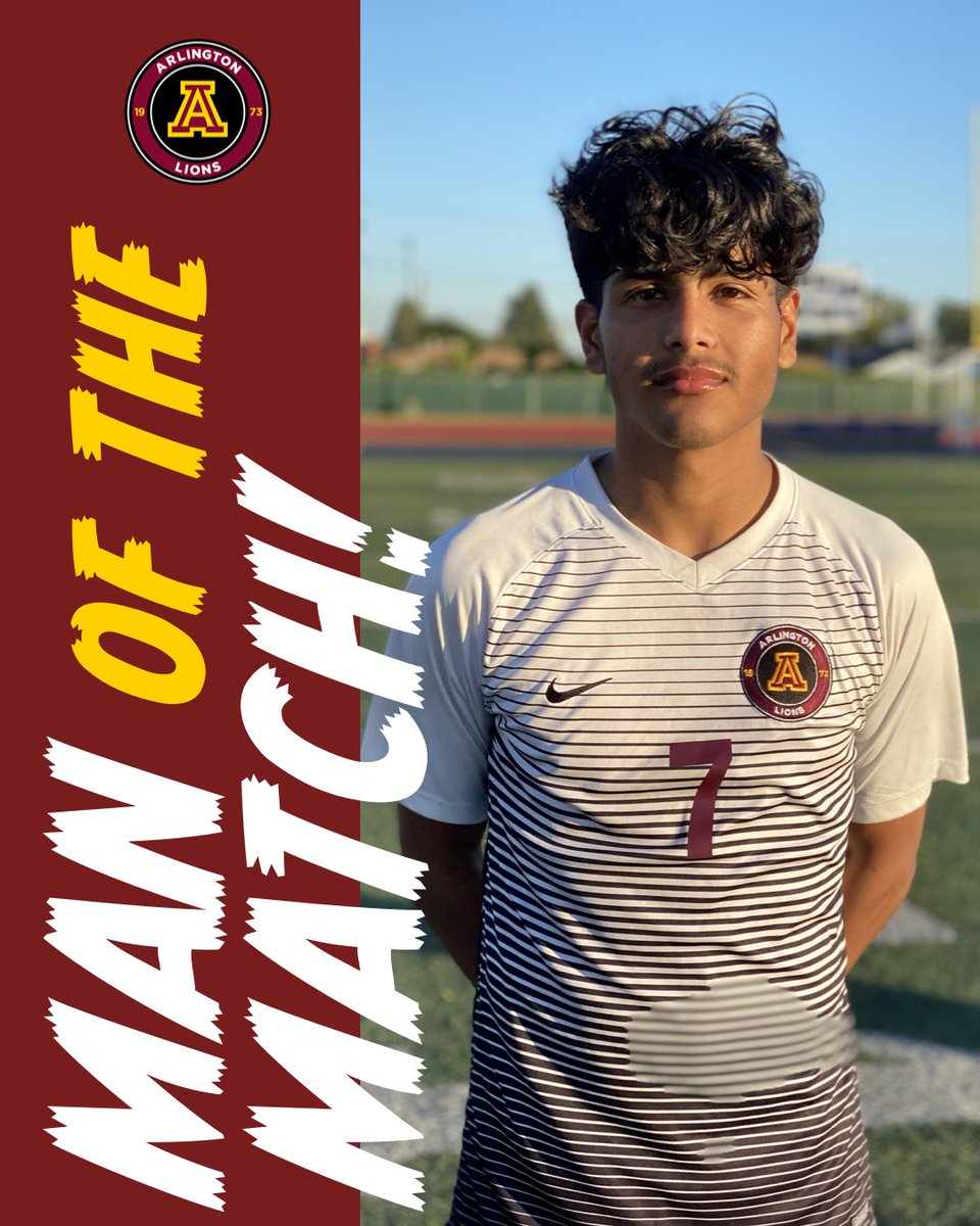 Man of the match to 4-year Varsity player @Joossee_107 with the game winning assist in the 85' minute (OT).