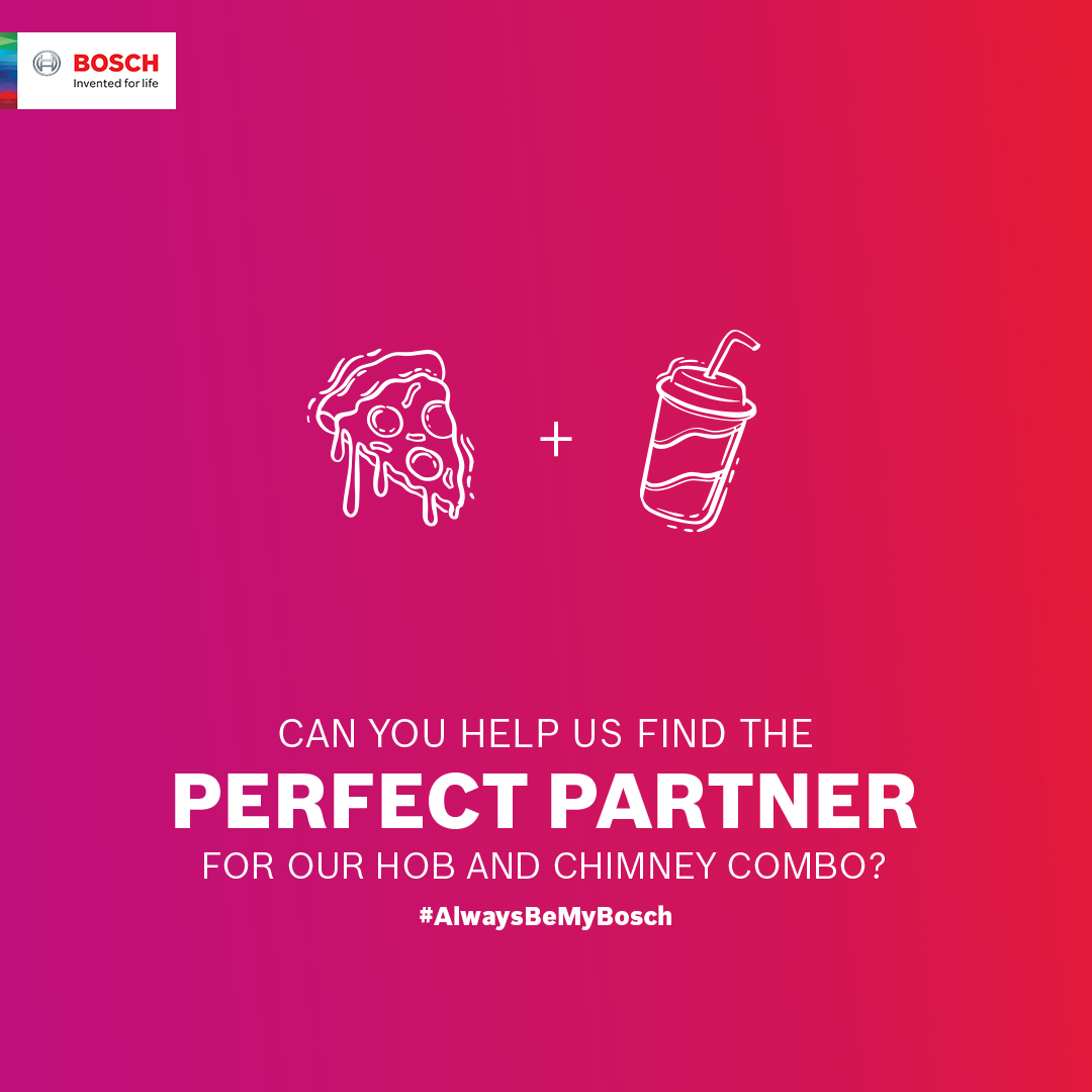 You are just one answer away from winning a Bosch Microwave! Participate in the #AlwaysBeMyBosch contest now!  HINT: http://bit.ly/BoschContestHint…  Read T&C to participate: http://bit.ly/AlwaysBeMyBoschTnC…  #ValentinesDay #Valentines2020 #LivingWithBosch #BoschHomeAppliances #BoschHomeIndia