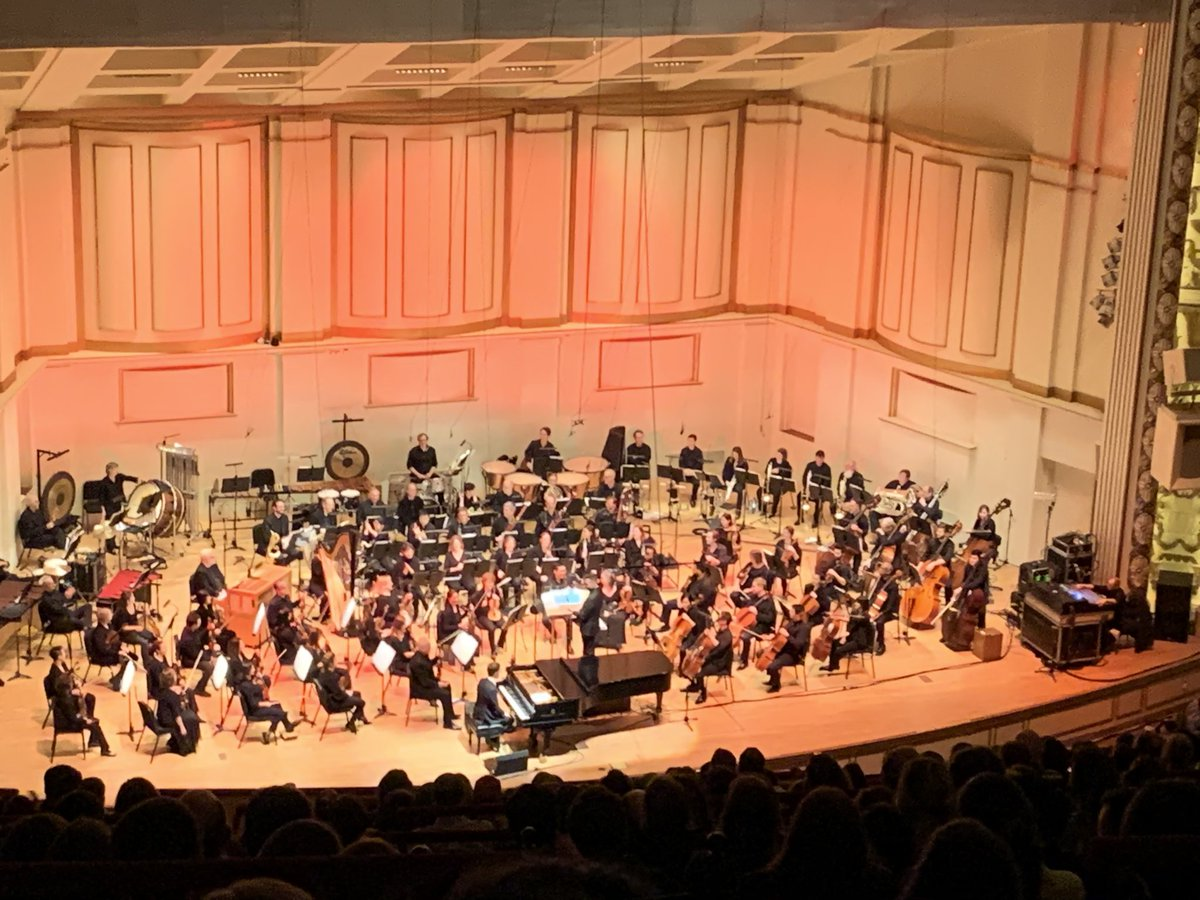 We were way up in the rafters at Powell Symphony Hall in StL but the sound of your music was powerful and melodic as usual @BenFolds. You classically rocked this bitch! #BenFoldspic.twitter.com/xDAm2iA5jQ