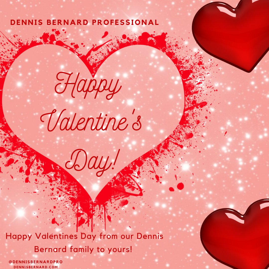 Happy Valentines day from our Dennis Bernard family to yours! #hairstylist #fortheloveofahairdresser #ittakesapro #modernsalon #americansalon #powertools #roaring20s #haireducation #fashionhairstyle #besthair #fastcolor #awesomehairstylistspic.twitter.com/Ev9j7W4fO6