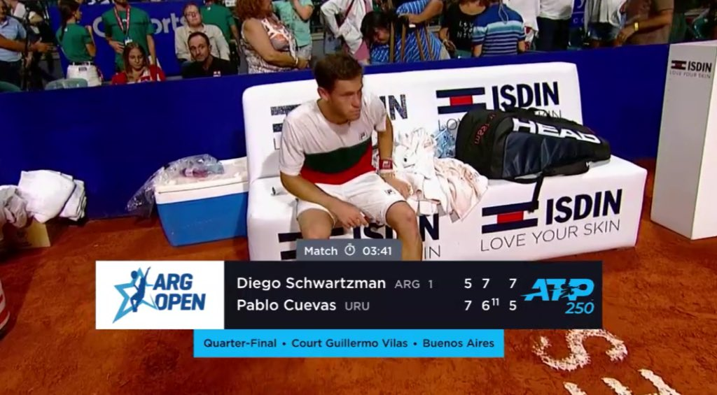Ben Rothenberg On Twitter Wildest Match Of The Decade So Far Injured Diego Schwartzman Can Barely Walk By The End But Wins In Nearly Four Hours Https T Co Tztr56sstg