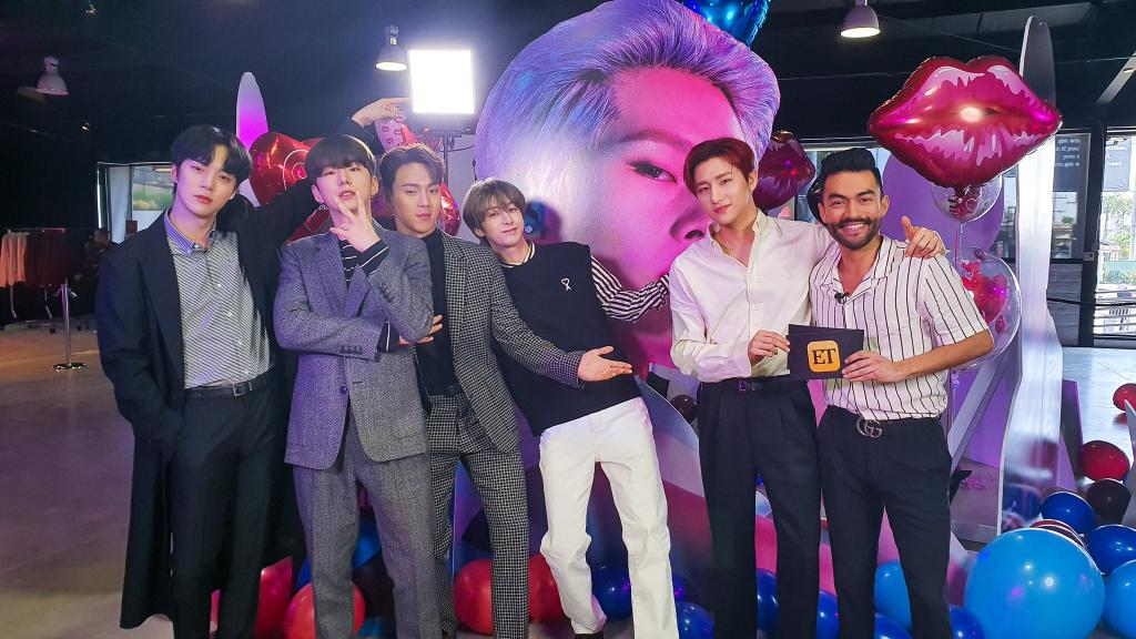 """@OfficialMonstaX @etnow @DDirecto 14.02.2020 """"ALL ABOUT LUV"""" #MONSTAX en EEUU 🇺🇸  @etnow @DDirecto  #ALLABOUTLUV  #MONSTA_X #몬스타엑스 @OfficialMonstaX"""