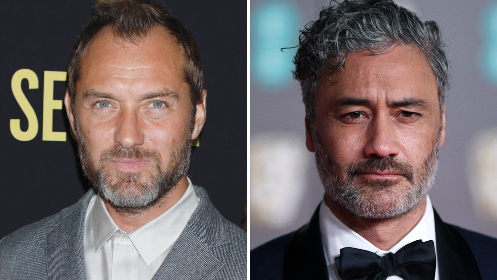 jude-law--taika-waititi-team-on-the-auteur-limited-series-eyed-by-showtime Photo
