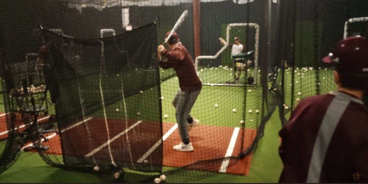 #thebc400 BASEBALL: Fri. at 8 p.m. vs. Newnan at LakePoint Sports Complex in Emerson; Sat. at 12 p.m. vs. East Paulding at LakePoint & also at 2:30 p.m. vs. Walton at LakePoint. Fri., BC worked in the batting cages at the Mike Cameron Baseball Academy in Stockbridge! #Savannah