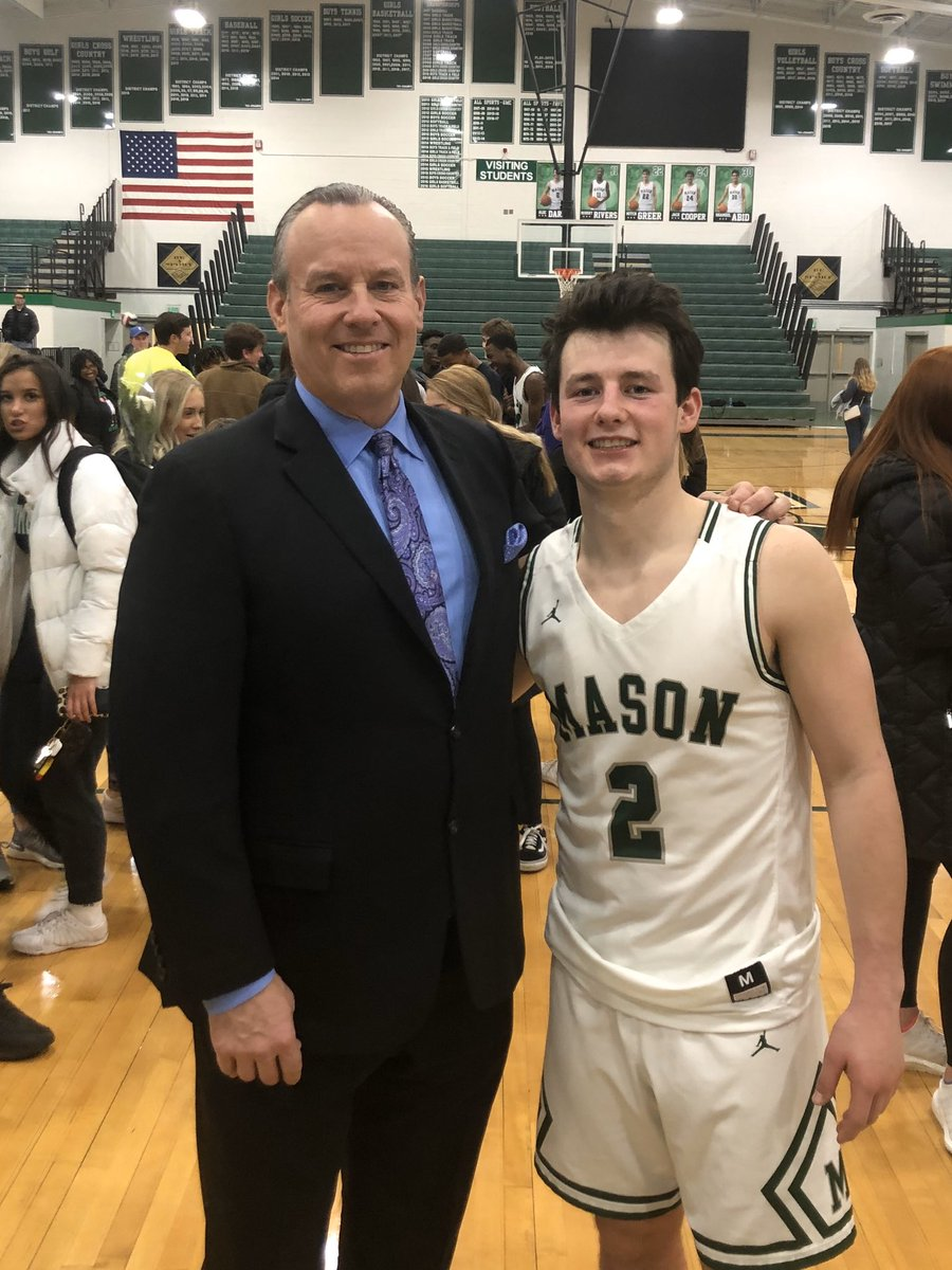 Senior night at Mason!! Comets beat Fairfield and I get to see my son Alec play his final Varsity home game ever.  He's played with Jack Cooper since 5th grade.     Where did the time go? On to the next stage in life. @a_dardis3 @WLWT @MHSsportsradio @BasketballMason