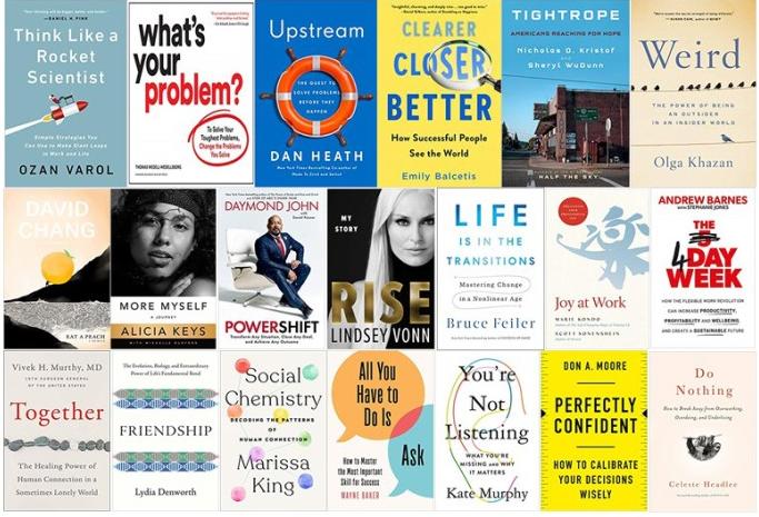 20 books that all leaders should read in 2020 Adam Grant WEFBook Club https://wef.ch/2FzccDb leadership