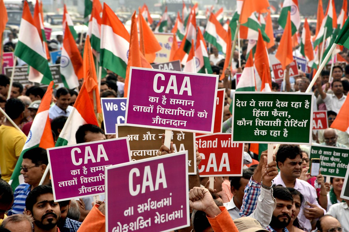 Citizenship (Amendment) Act is a wise legislationWhy none of the objections raised on it are validRead today's op-ed by Dhruv C Katoch 👇http://bit.ly/38FdTvT