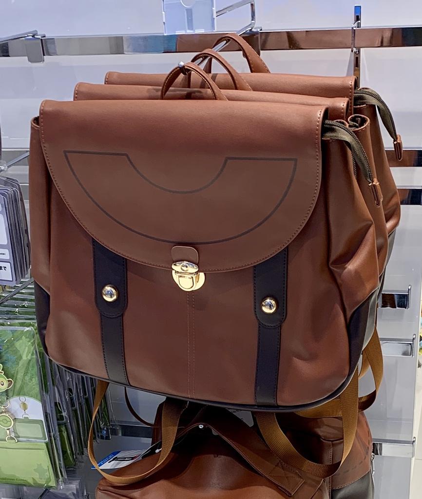 主人公のレザーリュックとレザーボストンバッグがありました#ポケモンセンター