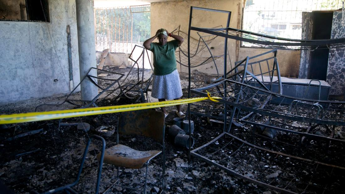 15-children-were-killed-in-a-fire-at-a-haiti-orphanage-run-by-a-us-christian-group Photo