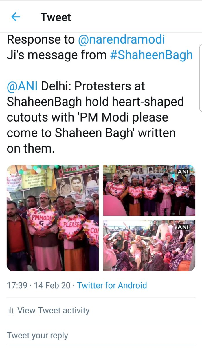 1. They know #CAA has got nothing to do with Indian #Muslims2. But #CAA_NRC has lured the Snake( #Antinationals like #SharjeelImam )out and their real agenda viz to break india. That's y the Seditious Azaadi slogans.3. Like delhi #ShaheenBagh this 2 will become #ShaheenBaghBegs