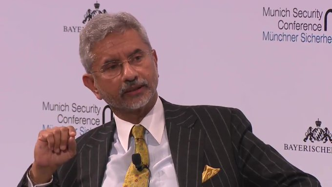 ANI quotes External Affairs Minister, S Jaishankar at Munich Security Conference, Germany: There is no question the world is more nationalistic, US, China & different countries in the world are more nationalistic. A lot of this nationalism has been electorally validated.