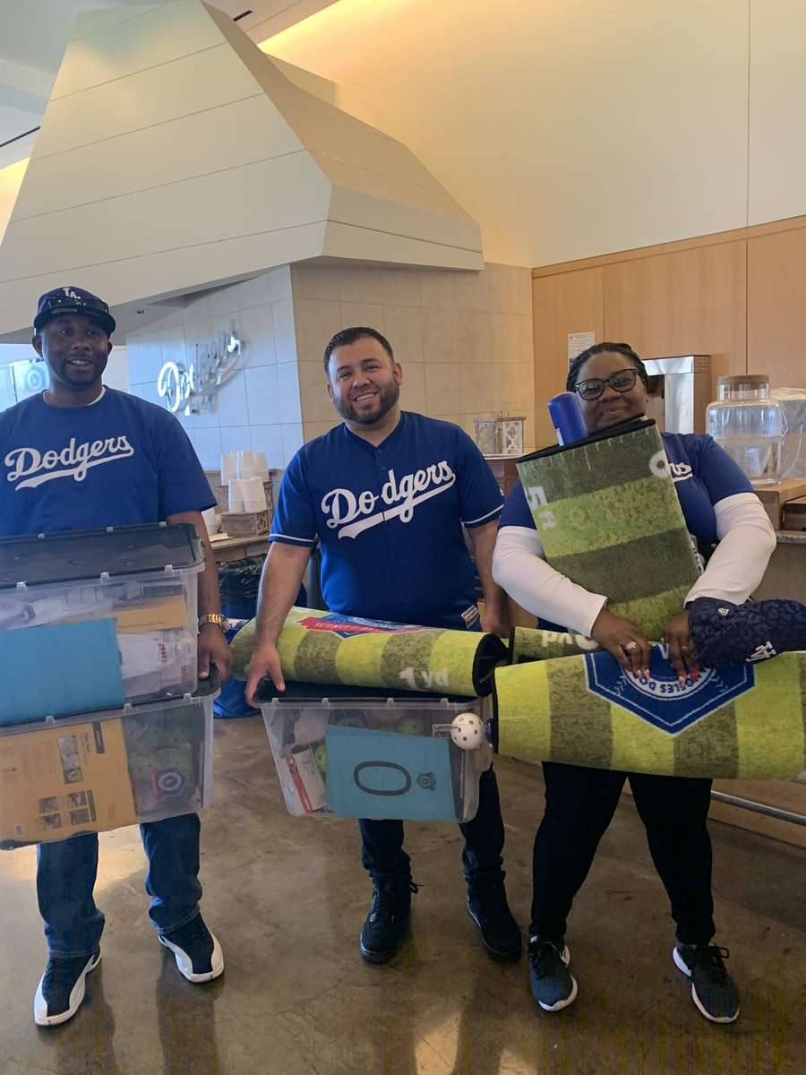 Every teacher left with a kit to be able to teach the Science of Baseball curriculum in their own classroom! #LADFgives #STEM #BiggerThanBaseball