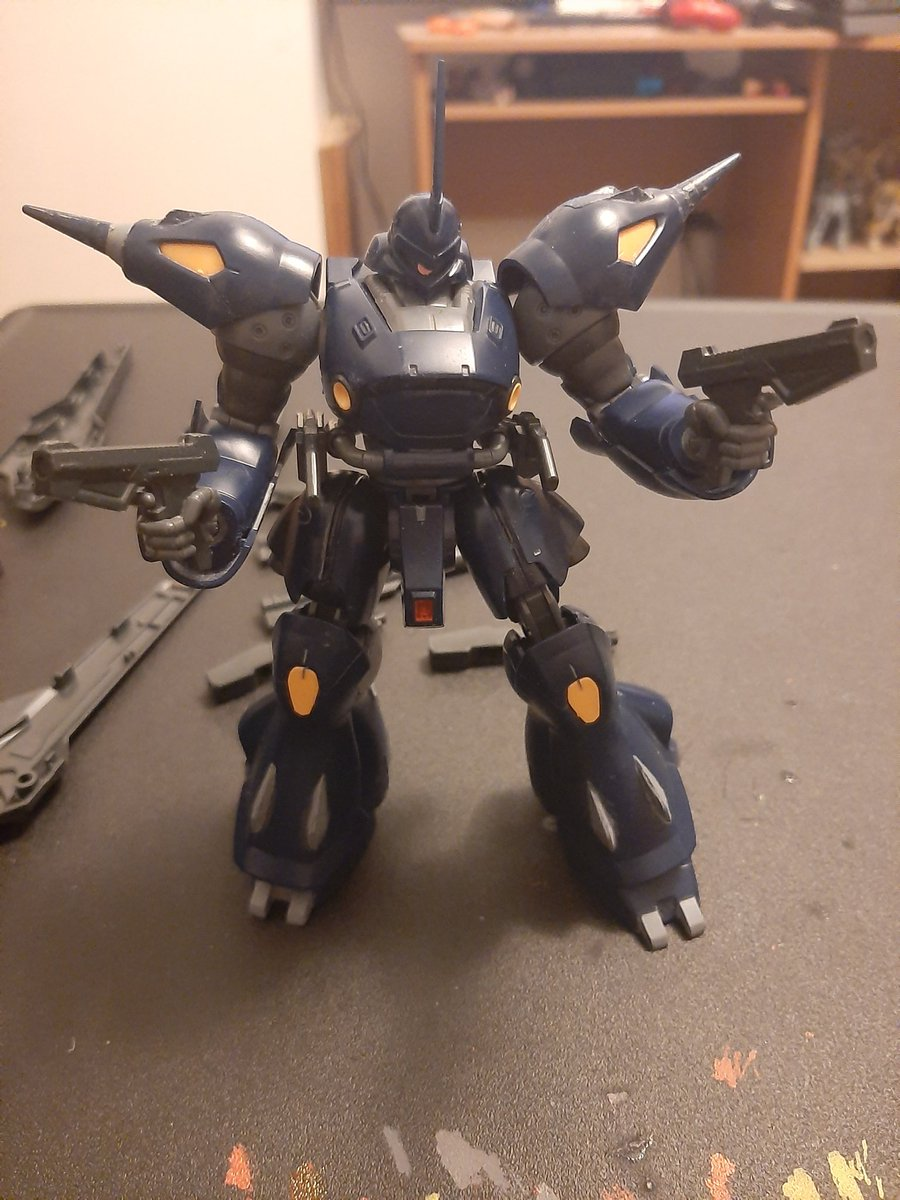 Been working on kampfer most of the late evening going well so far virtually all nub mark's gone by this point I feel satisfied with my work so far going through my old builds gonna start on the painting later. <br>http://pic.twitter.com/HYsaYLknSd