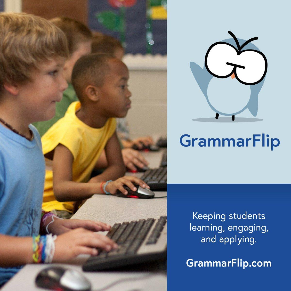 Let GrammarFlip change the way you teach grammar!      #2ndaryela #elachat #cpchat
