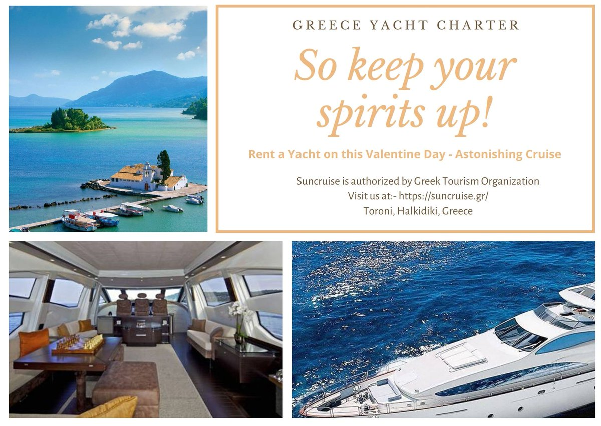Greece #yachtcharter is available in different types of things. They come with customized menus along with a perfect luxury option that will make a great way forward to make it more sensible. https://bit.ly/2wkWGth #cruise #rentayacht #Saniresort #yachtpic.twitter.com/KOHq9I1kOd