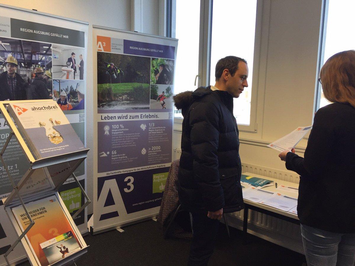 test Twitter Media - Auf der #kontakTA 2020 lernen sich heute technische Fachkräfte und spannende Unternehmen aus der Region #Augsburg kennen🤝Infos auch bei uns am Stand in Raum 405 #jobsinA3 #fachkräftemarketing #fachkräftesicherung https://t.co/Qj1qia0efW