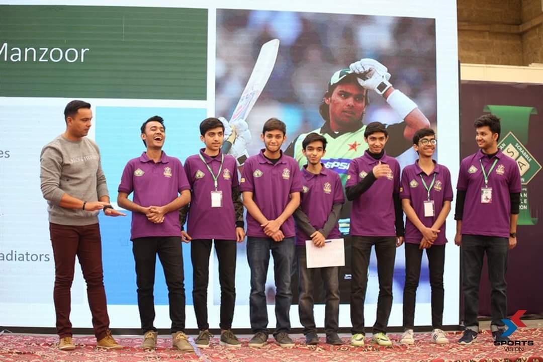 @_khurrammanzoor and Sohail Khan at the @TeamQuetta Inter-school Scrabble Championship held last week in Karachi. #scrabble #pakscrabble #pakistanscrabble #gladiatorsscrabblechampionship https://t.co/LVB7t0XDF0