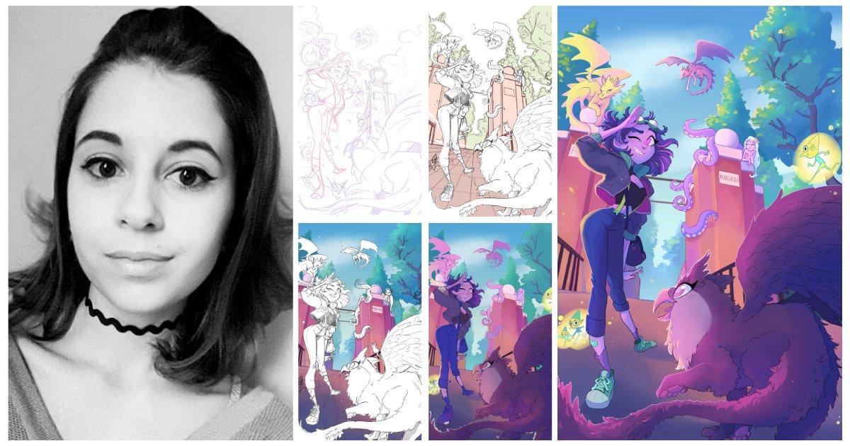 test Twitter Media - Sempre locandine belle al #Veneziacomics ! Dopo quella realizzata da Giulia d'Urso per la scorsa edizione, adesso è il turno dell'altrettanto bravissima Sara Rossi ! Wow!! #fumetti #comics #illustrationartists #news #artwork https://t.co/9YKlKzGNPi