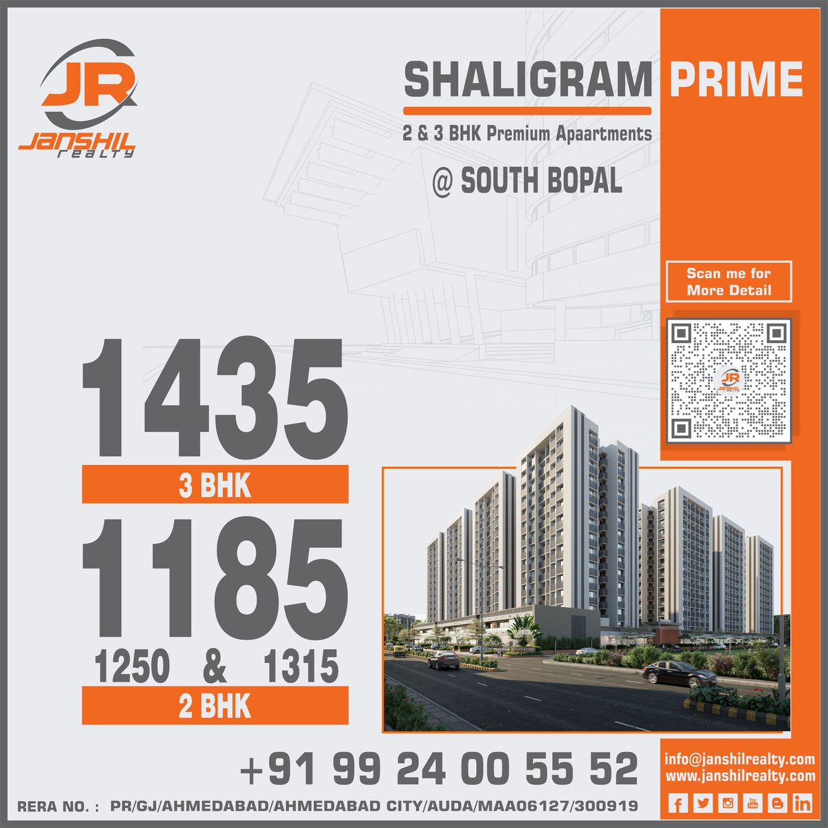 Shaligram Prime is a cocoon of #exclusive 2 & 3 BHK #premium #apartments located in #southbopal for More Detail Click http://bit.ly/2Hpb067  #realestate #property #Investment #propertymanagement #Realtor #janshilrealty #bopal #Ahmedabad #propertymanagment #propertyinvestmentspic.twitter.com/NEd7Kkn0Dv