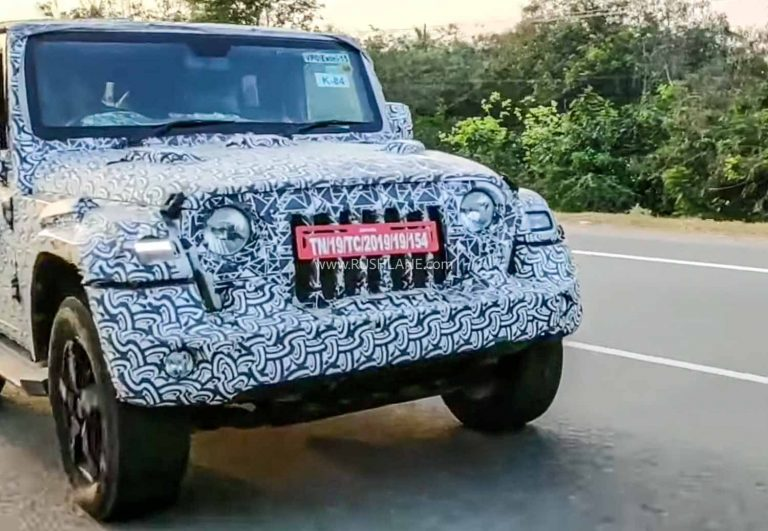 2020 Mahindra Thar production-ready variant spied testing. 2020 Mahindra Thar is visually bigger than the current-gen Thar2020 #Mahindra Thar was expected to debut at the #AutoExpo2020 Stay tuned for more updates on the 2020 #MahindraThar