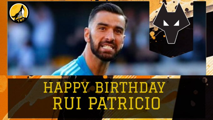 Happy 32nd Birthday to our Goalkeeper Rui Patricio