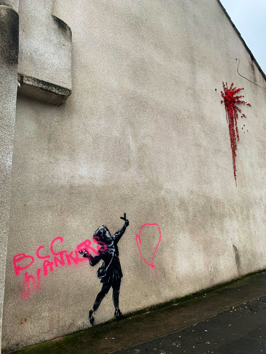 That didn't take long then... #banksy