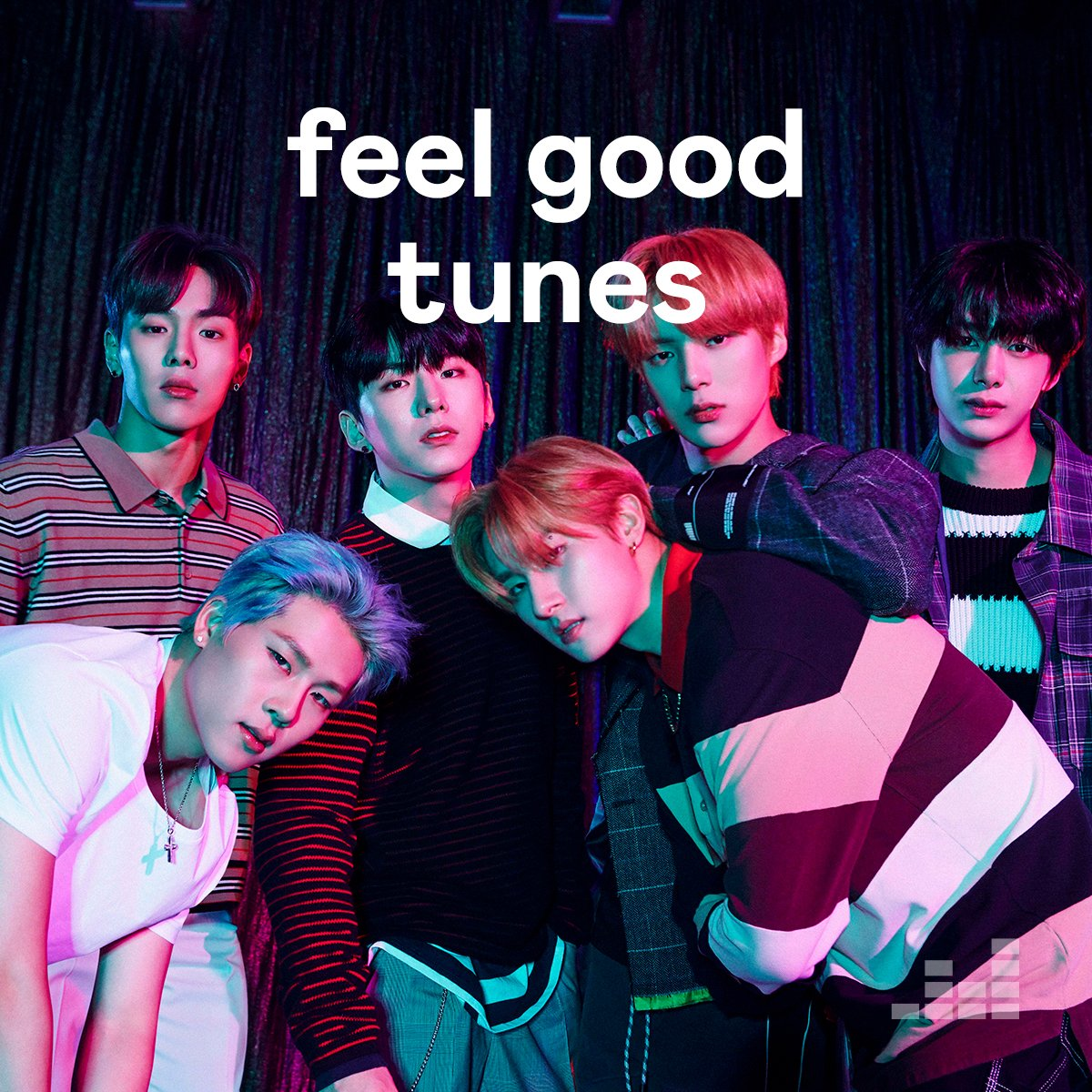 "Thank you @deezer for including us in your ""feel good tunes"" playlist   #MONSTA_X #MONSTAX #몬스타엑스 #AllAboutLuv"