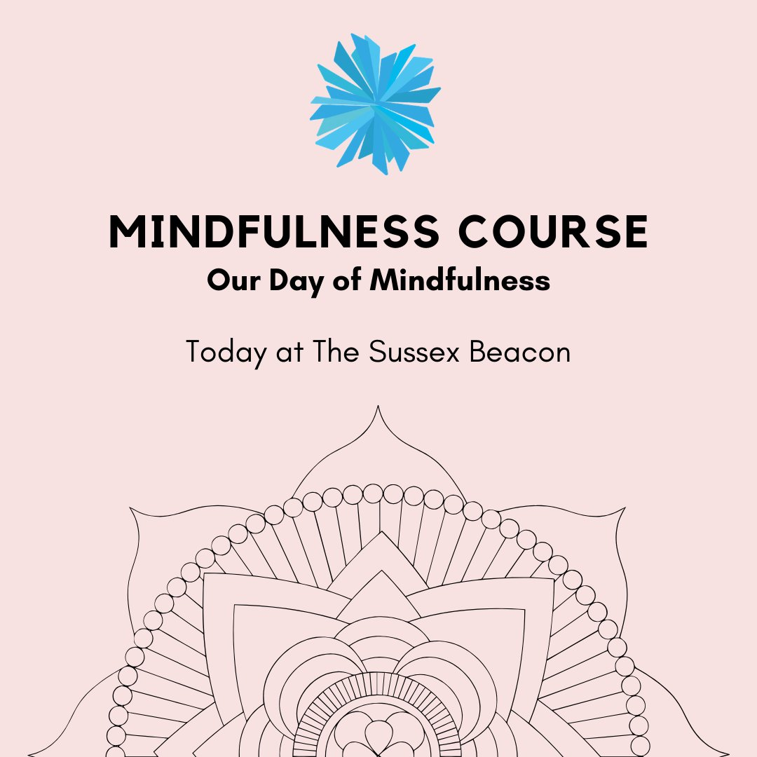 For all attendees on our Mindfulness Course - today is our Day of Mindfulness  More info: http://ow.ly/HDQ250xZLru . . . #HIV #sussex #eastsussex #mindfulness #wellbeing #course #brighton #hove #kemptown #charity #notforprofit pic.twitter.com/CgzXxfZJOg