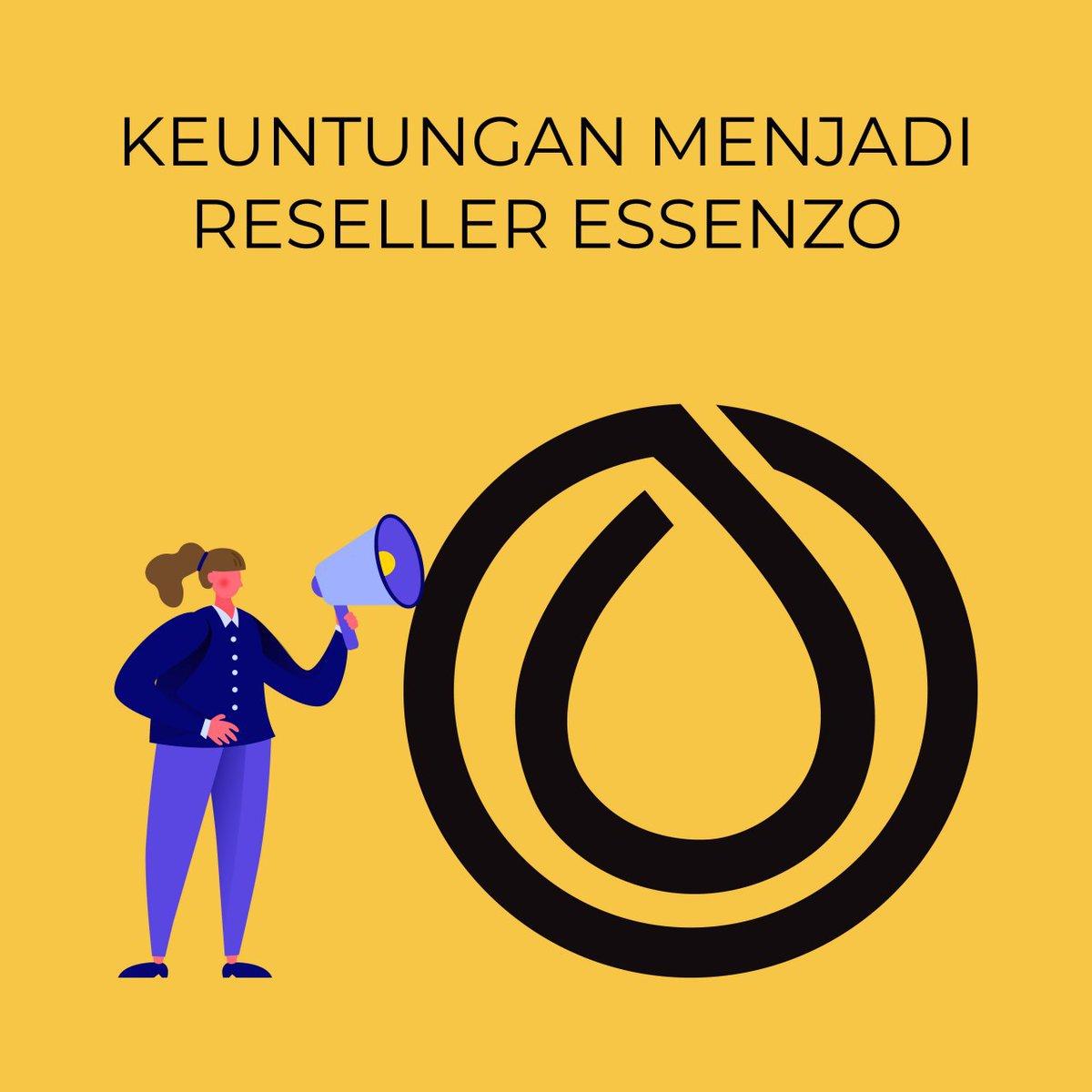Alasan kuat jadi reseller essenzo : mudah, gak ribet dan dimentori sampai dengan sukses.  Mau tahu solusinya :  Silahkan klik link dibawah ini,  http://bit.ly/JosResellerEssenzo… http://bit.ly/JosResellerEssenzo… http://bit.ly/JosResellerEssenzo…  Atau klik tombol Learn more/Selengkapnyapic.twitter.com/Alr52ipsfl