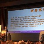 Image for the Tweet beginning: Diese Überzeugung von NR Gerhard