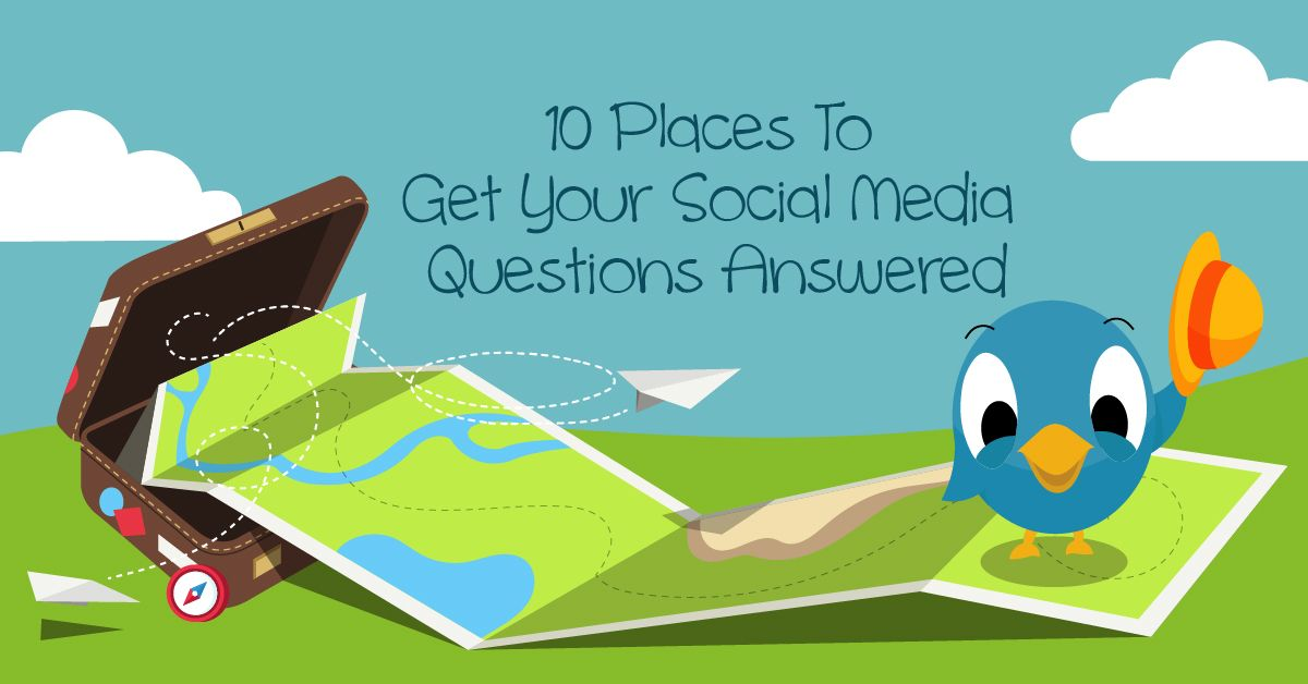 Google isn't the only place to get your urgent #socialmediaquestions answered.  Get this list of 10 places, with linked resources, to get your #socialmedia questions answered today.  https://buff.ly/35UEC58  via @AnitaKirkbride #socialmediahelp pic.twitter.com/ZzMITcFo0i