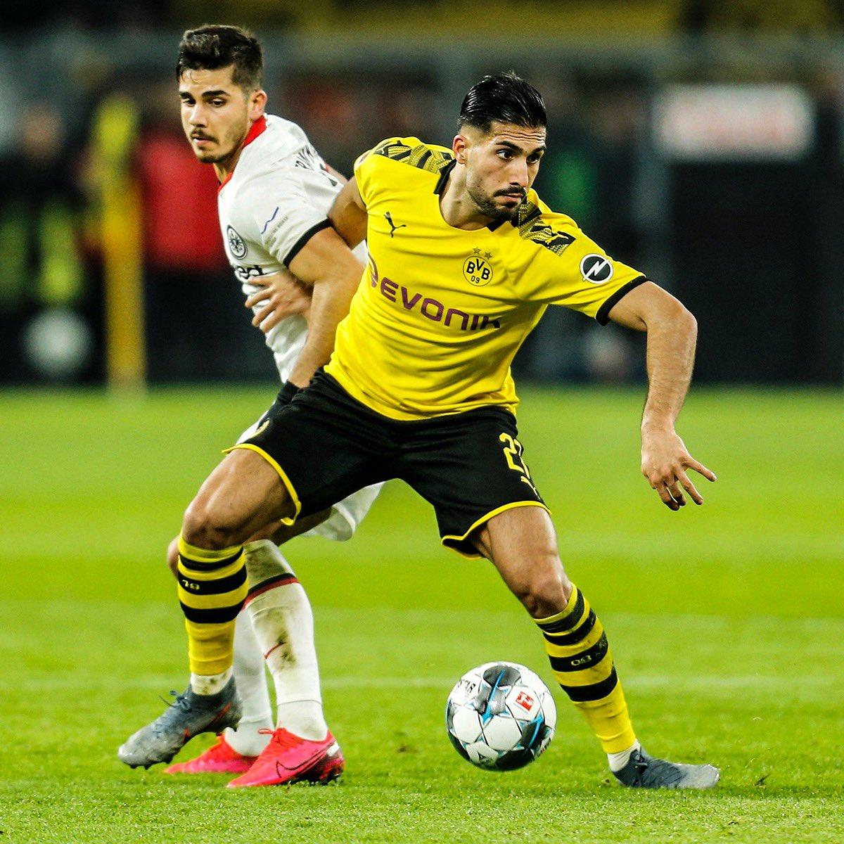 Fantastic win in front of the Gelbe Wand at my home debut! Thanks for your great support 💛🖤 @BVB #EC27 #BVB #weCan Ein großartiger Sieg vor der gelben Wand in meinem Heimdebut. Danke für die Unterstützung!