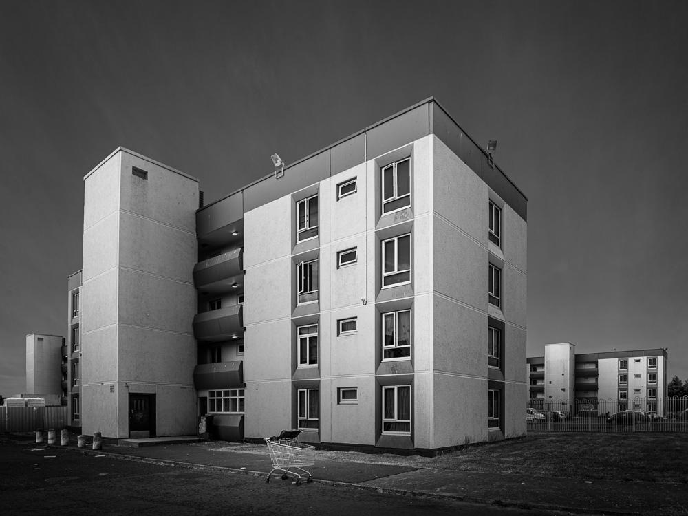 Cromcastle Court | Kilmore Road, Coolock  Unknown architect, 1971 - possibly Arthur Swift? @Elsorowley? @Arch_Archive? @beuller?   #dublin #coolock #20thcenturyarchitecture #modernism #brutalism #brutalist #brutalmondays #sosbrutalism #concrete #socialhousing #ThePhotoHour
