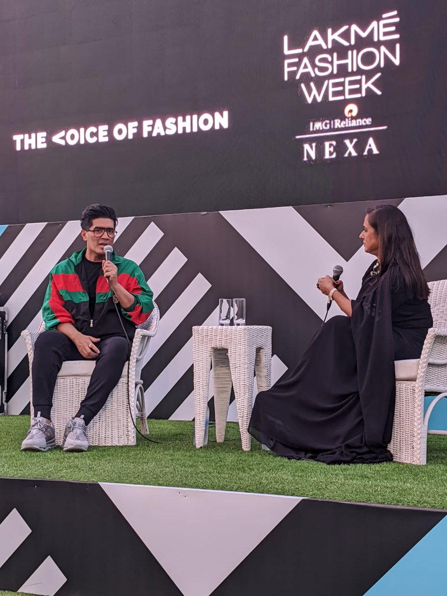 QUESTIONS NO ONE ASKS:. Designer @ManishMalhotra  in a candid conversation with @Shefatwork  Editor, The Voice of Fashion, on Malhotra's 30 years in the fashion industry, celebrity culture, inclusivity, Bollywood connect and his unique brand of positivity and perseverance. pic.twitter.com/UtgMmEIZPQ