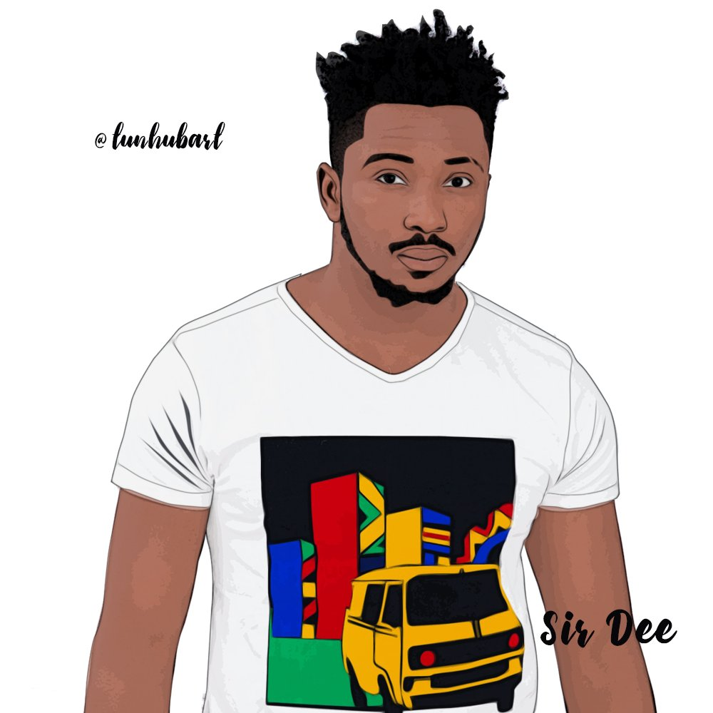 Do you still remember this guy.. Through out the show I see as a guy who don't take nonsense but friendly ..just like him for that... @sirdee_da the man.. #BBNaija #BBN #bbnaijaupdates #Repost my cartoon Art for to day.. Who is next?