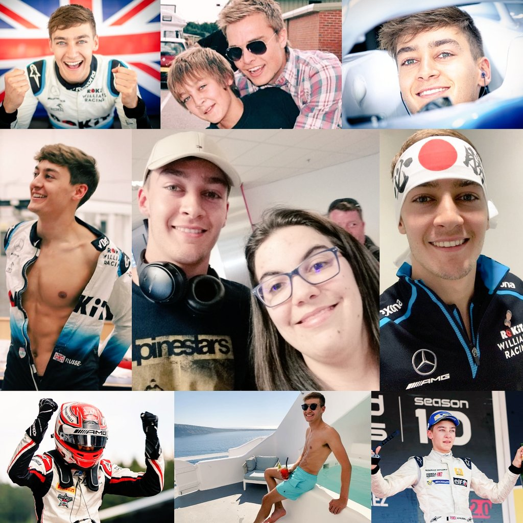 Happy 22. Birthday @GeorgeRussell63 🎂🎉😍 Wish you all the best this year and good luck for the season in F1❤️❤️🇬🇧 #HappyBirthdayGeorge #F1 #GeorgeRussell #RokitWilliamsRacing #BirthdayBoy #22yearsold