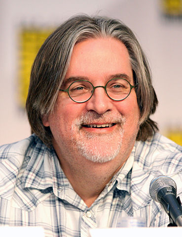A Happy Birthday goes out to Matt Groening, cartoonist, animator, creator of The Simpsons, who was born in 1954