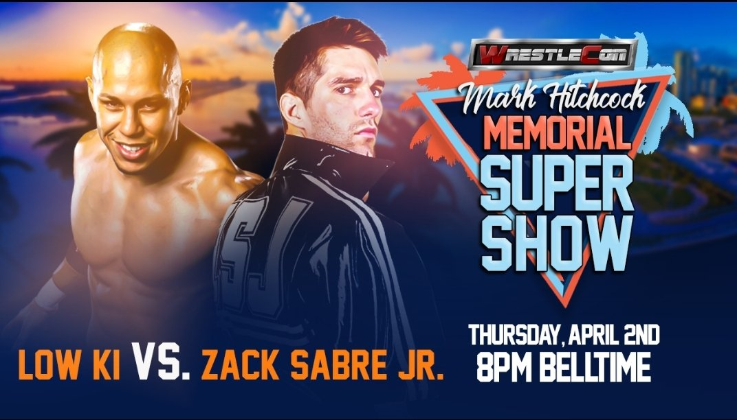 WrestleCon Announces Zack Sabre Jr. Vs. Low Ki For Mark Hitchcock Memorial SuperShow